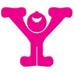 Joy smiling Y logo